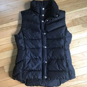 J Crew puffer vest.  Perfect for Fall!